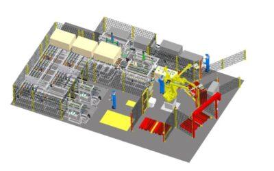Bau einer vollautomatischen Verpackungsstraße