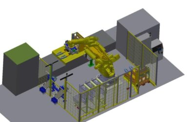 Automatisierung einer Pulverbeschichtungsanlage