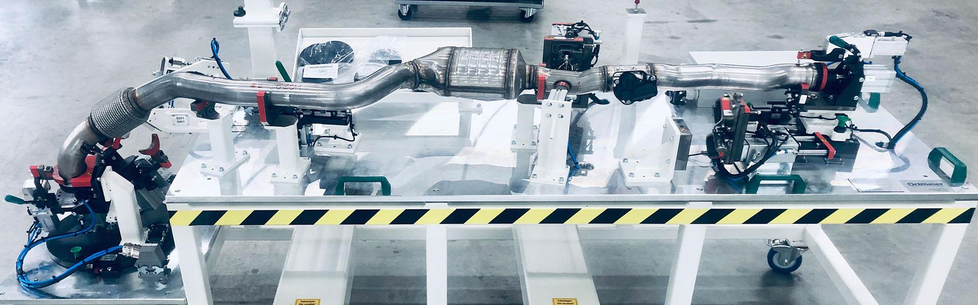 Lecktestanlagen von Ortmeier Maschinen- und Vorrichtungsbau