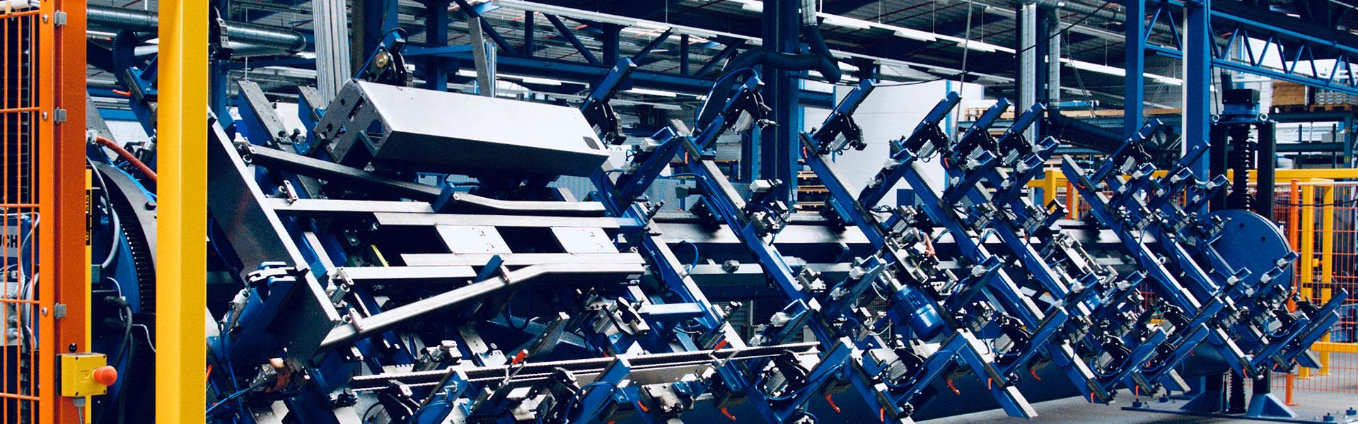Schweißvorrichtungen bei Ortmeier Maschinen- und Vorrichtungsbau