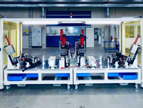 Dichtprüfvorrichtung, Maschinen- und Vorrichtungsbau
