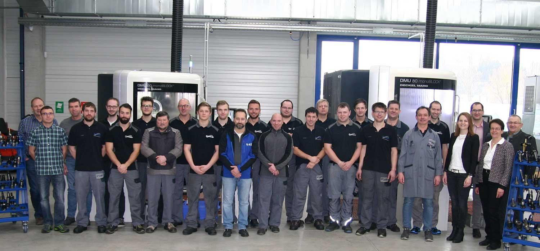 Das Team der Ortmeier GmbH & Co. KG