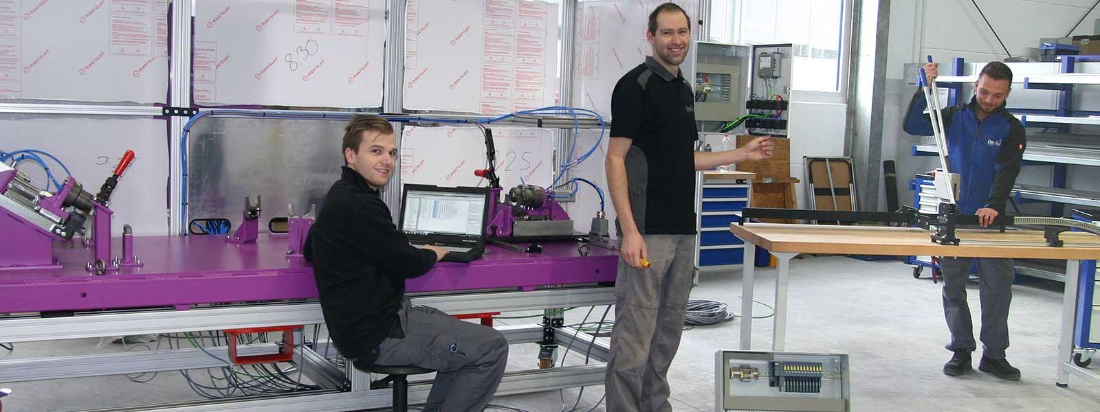 Elektrotechnik von Ortmeier Maschinen- und Vorrichtungsbau