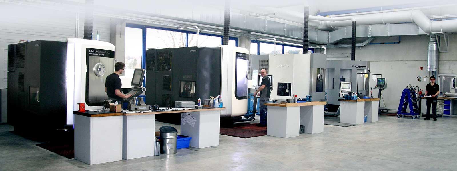 Fertigung bei Ortmeier Maschinen- und Vorrichtungsbau