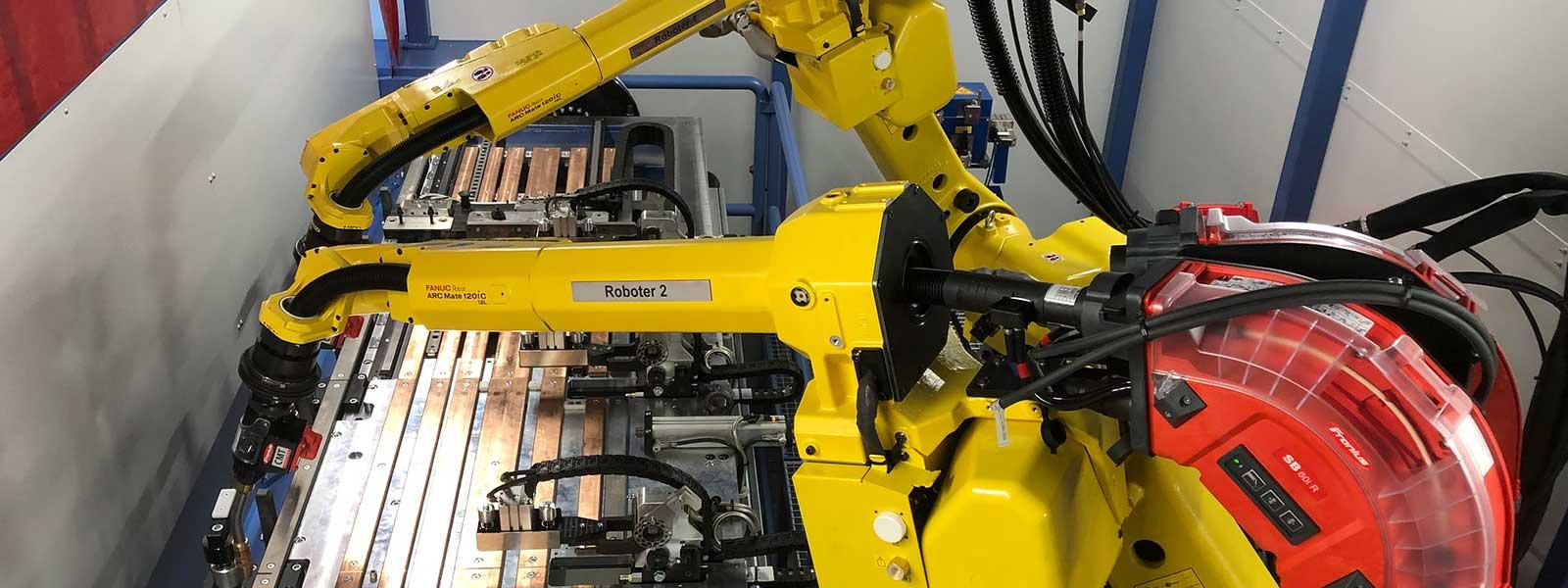 Roboteranlagen bei Ortmeier Maschinen- und Vorrichtungsbau
