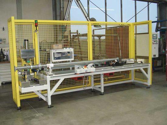 Montageanlage für Deckenstützen, Maschinen- und Vorrichtungsbau