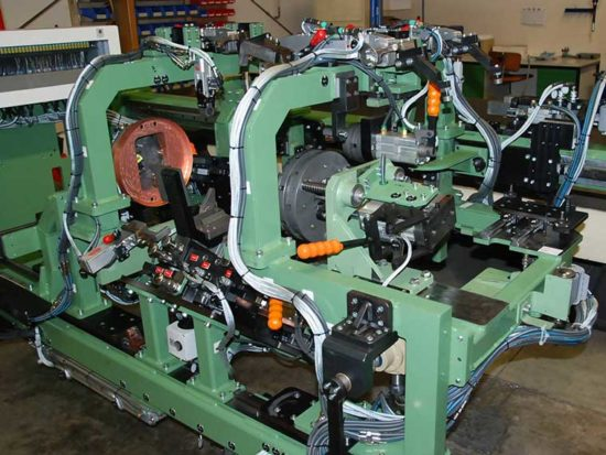 Roboterschweißanlage, Maschinen- und Vorrichtungsbau